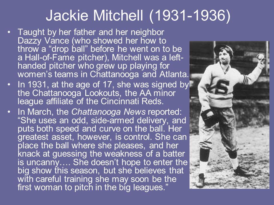 Jackie Mitchell (1931-1936)
