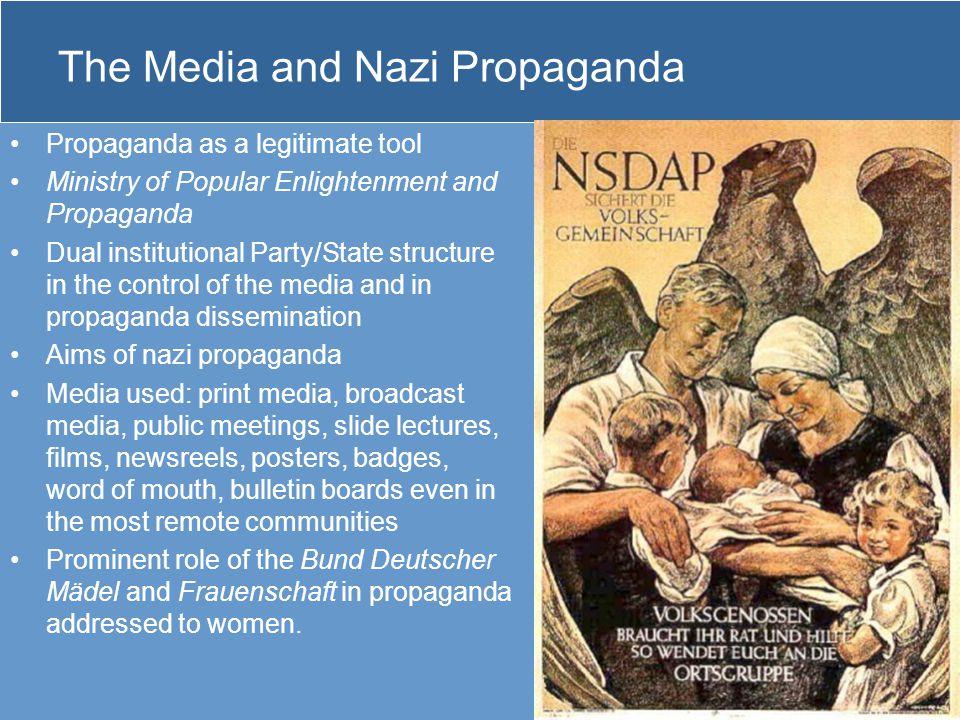 The Media and Nazi Propaganda
