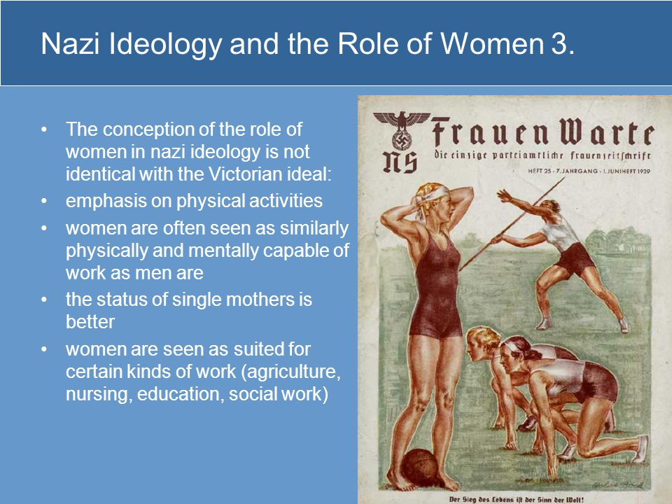 Nazi Ideology and the Role of Women 3.