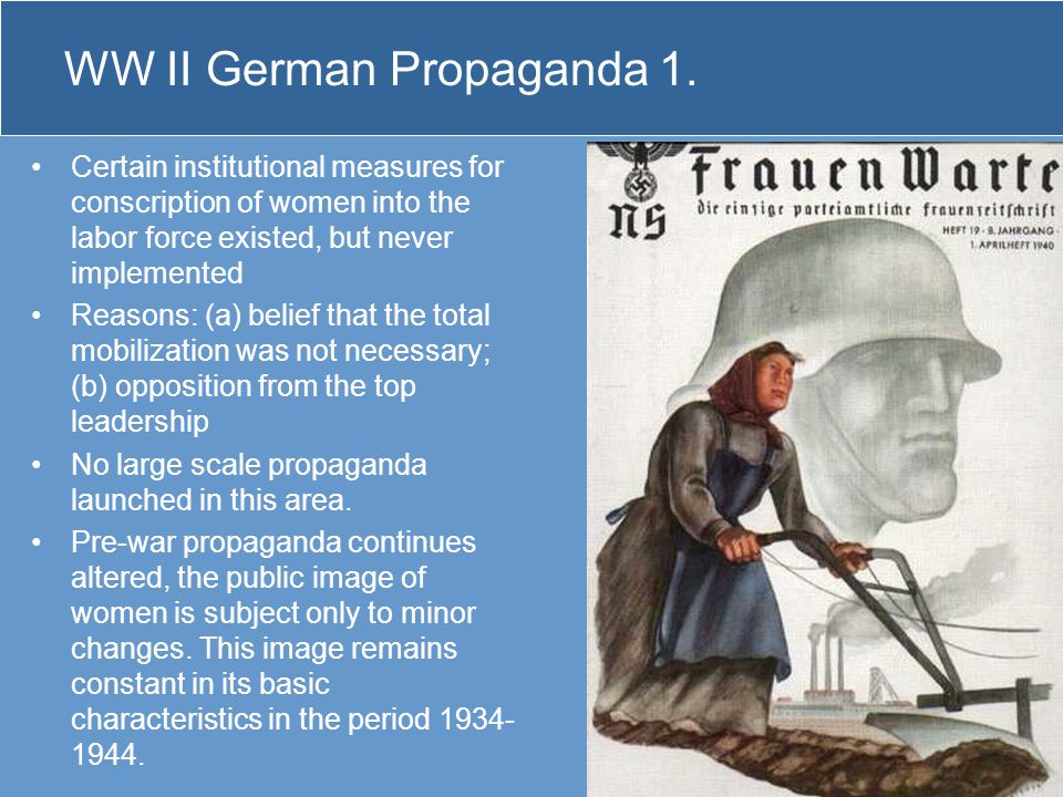 WW II German Propaganda 1.