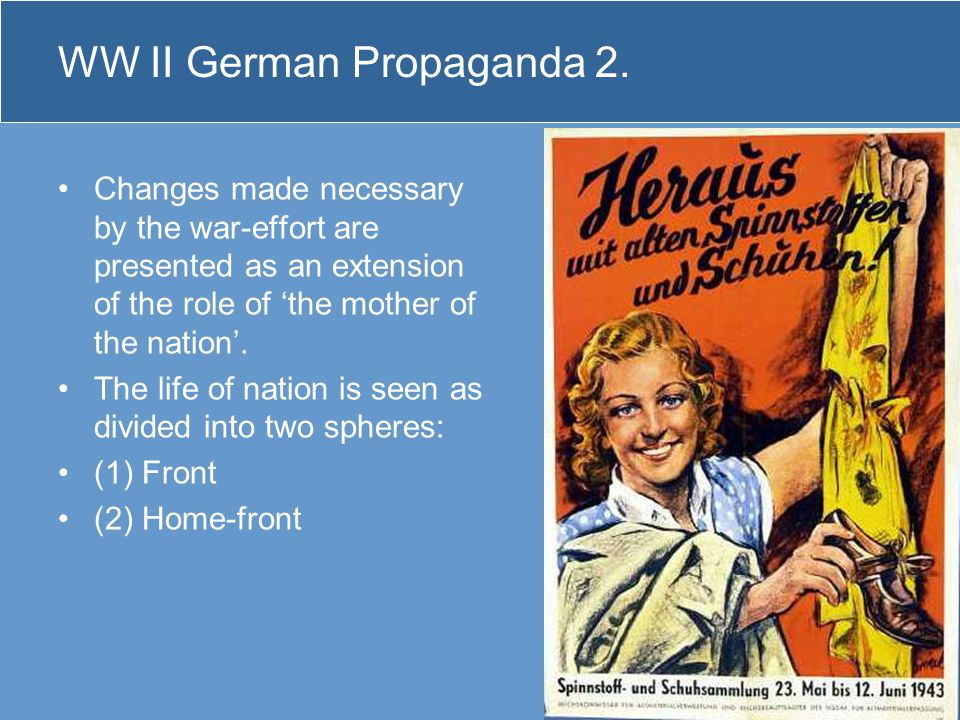 WW II German Propaganda 2.