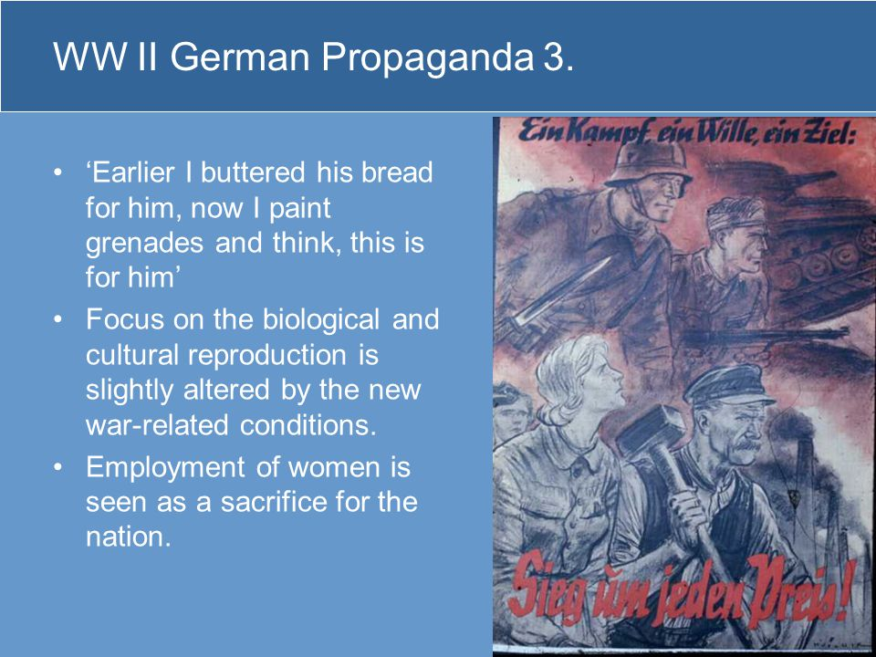 WW II German Propaganda 3.