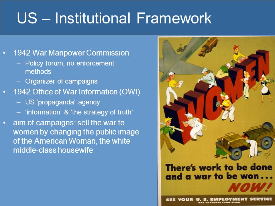 US – Institutional Framework