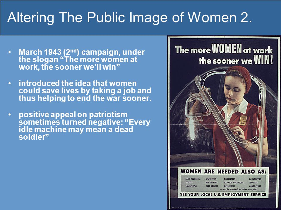 Altering The Public Image of Women 2.