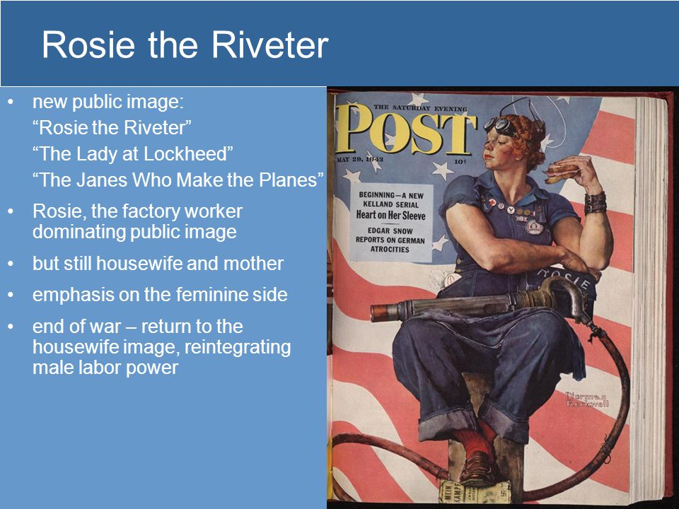 Rosie the Riveter new public image: Rosie the Riveter