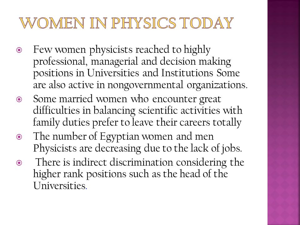 Women in Physics Today