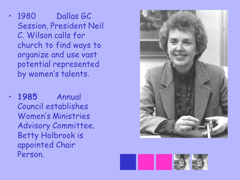1980. Dallas GC Session, President Neil C