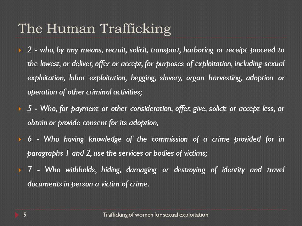 The Human Trafficking