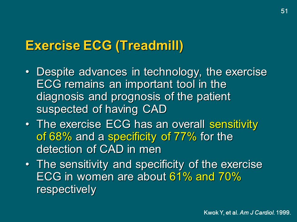 Exercise ECG (Treadmill)