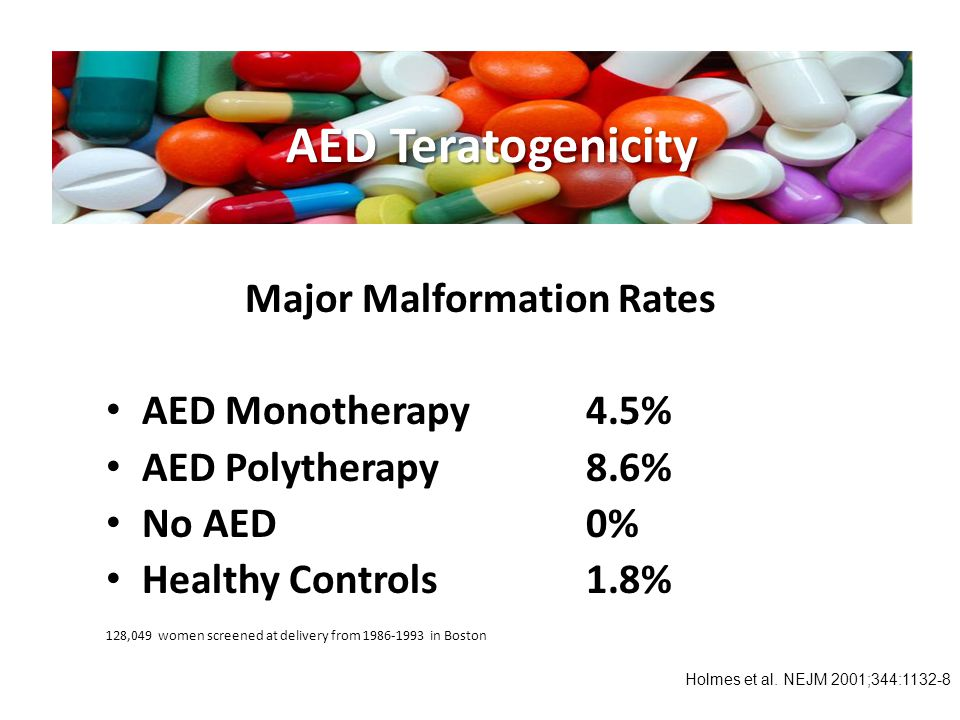 Major Malformation Rates
