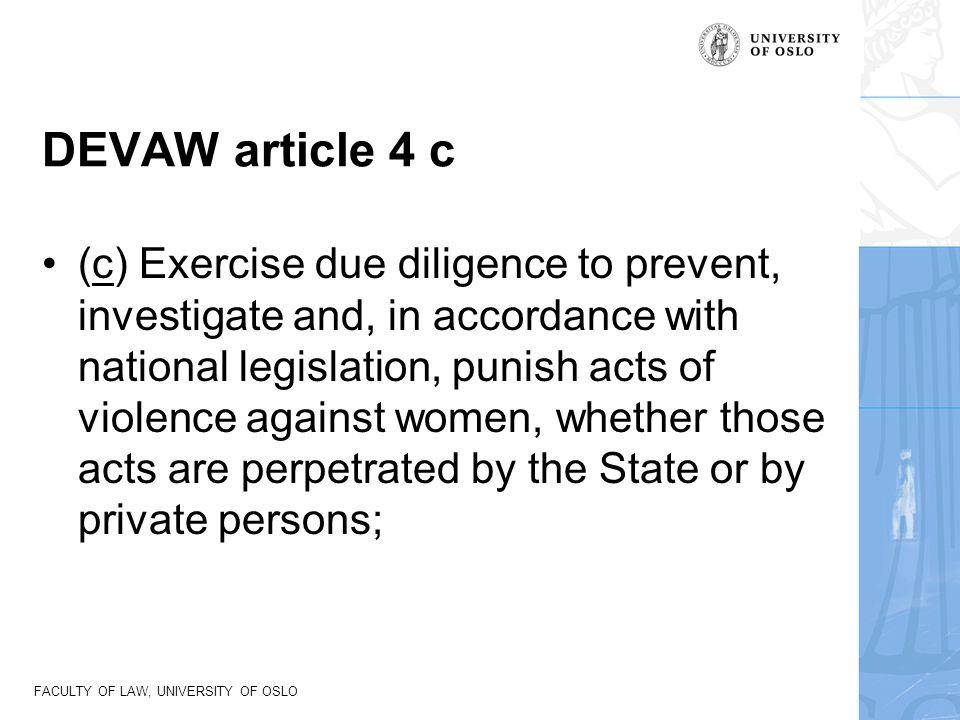 DEVAW article 4 c