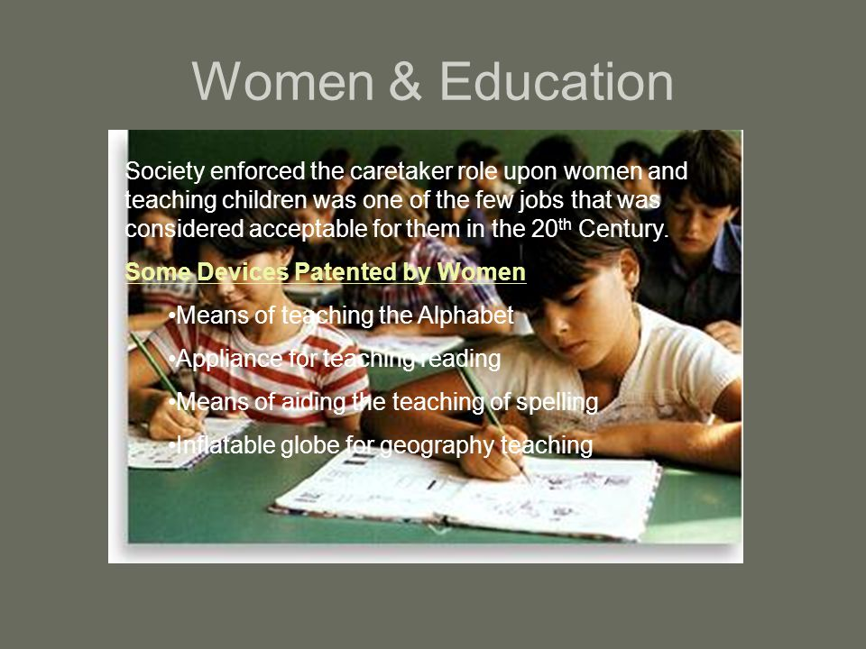 Women & Education
