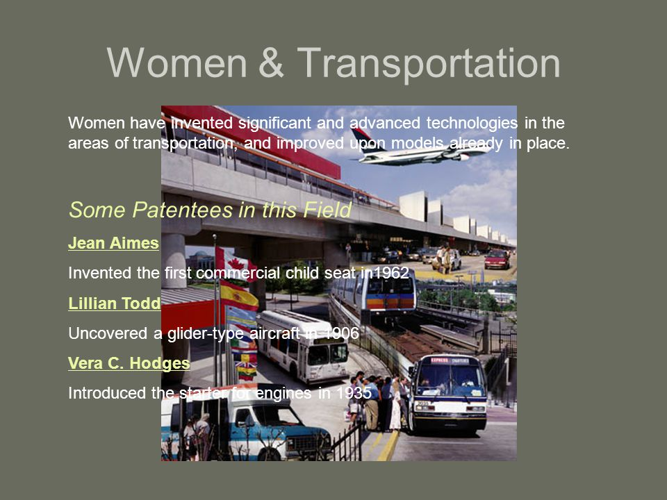 Women & Transportation