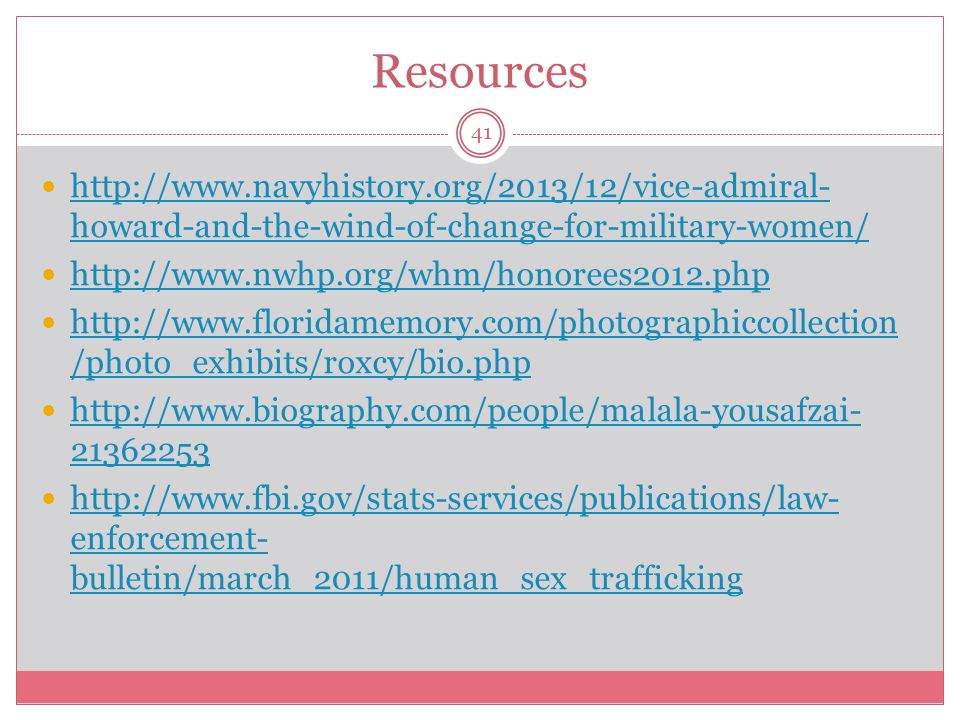 Resources http://www.navyhistory.org/2013/12/vice-admiral-howard-and-the-wind-of-change-for-military-women/