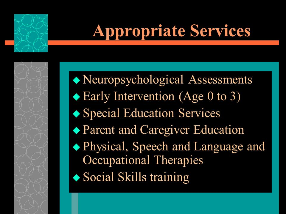 Appropriate Services Neuropsychological Assessments