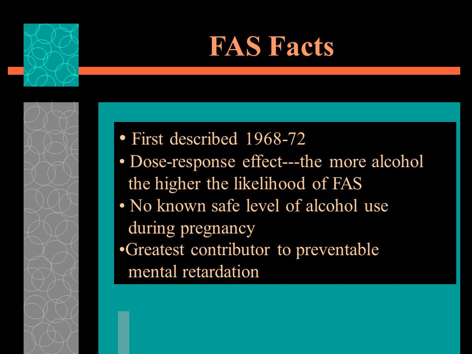 FAS Facts First described 1968-72