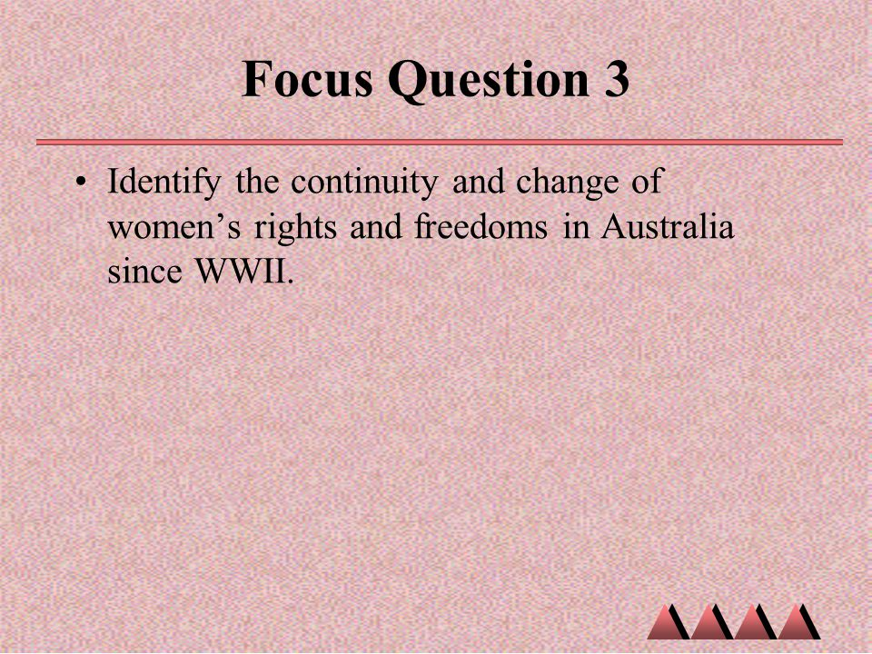Changing Rights and Freedoms Essay