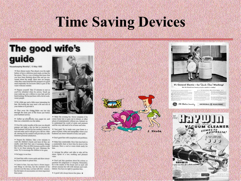 Time Saving Devices