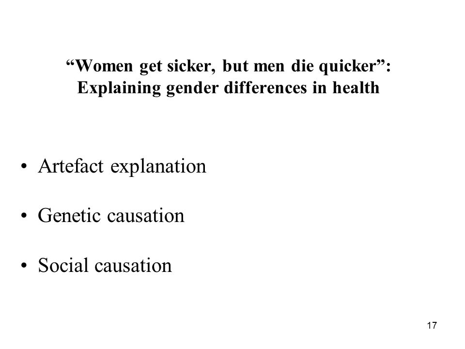 Artefact explanation Genetic causation Social causation