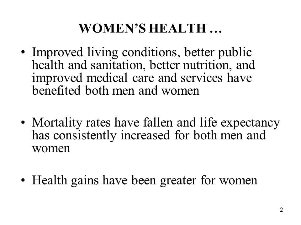 WOMEN'S HEALTH …