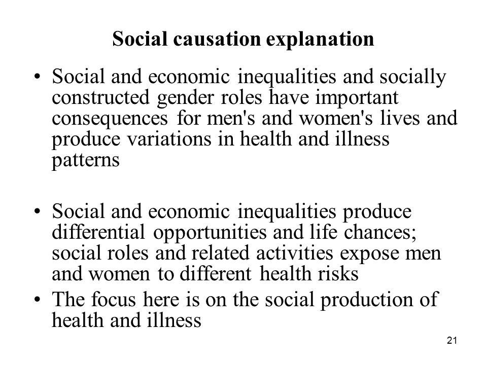 Social causation explanation