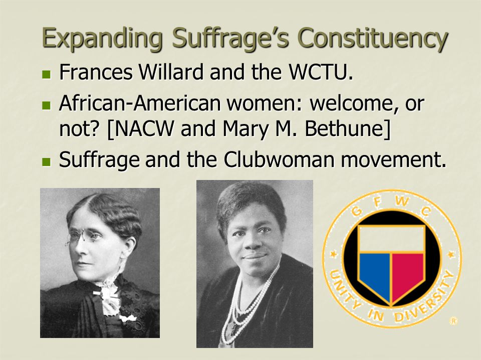 Expanding Suffrage's Constituency