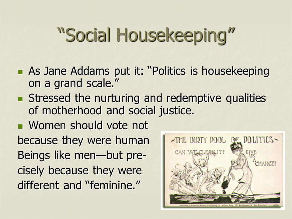 Social Housekeeping