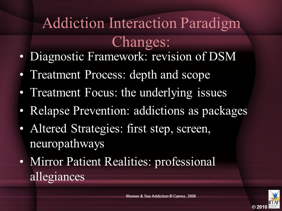 Addiction Interaction Paradigm Changes:
