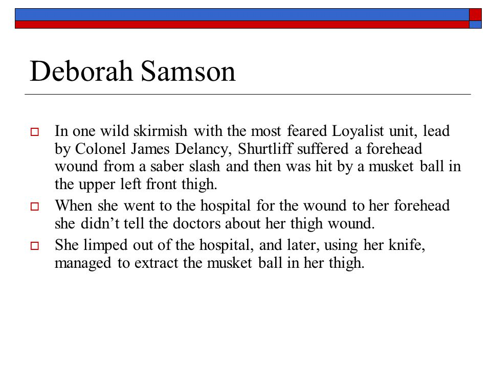 Deborah Samson