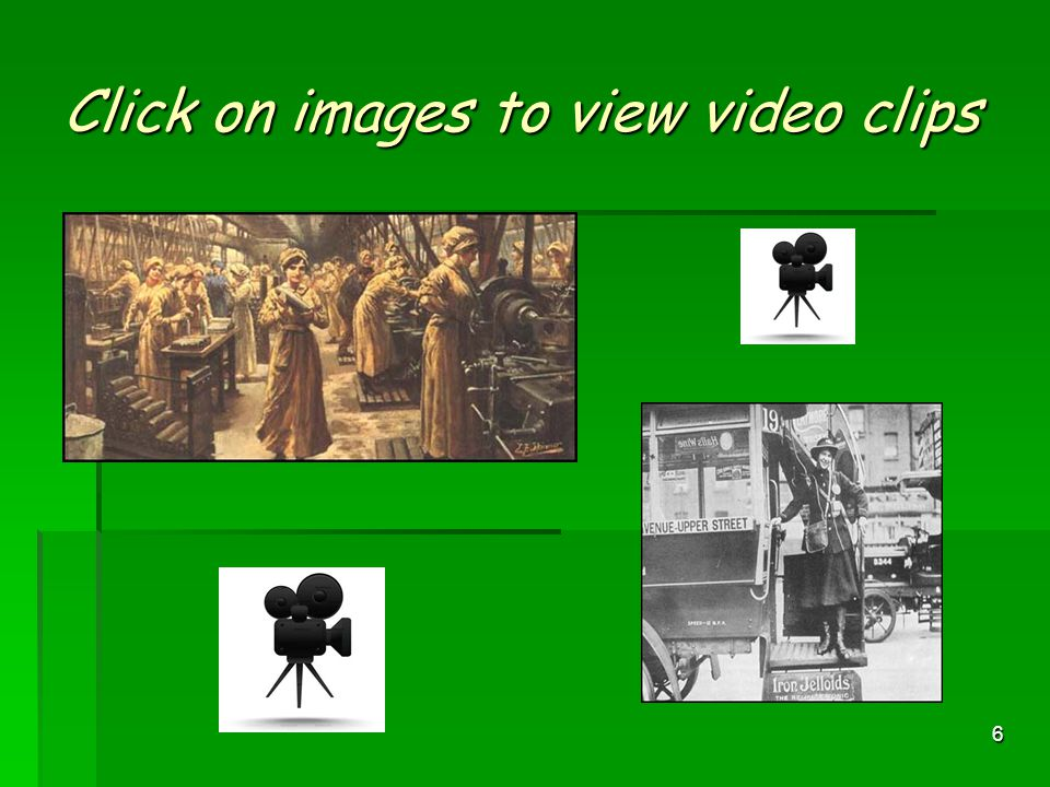 Click on images to view video clips