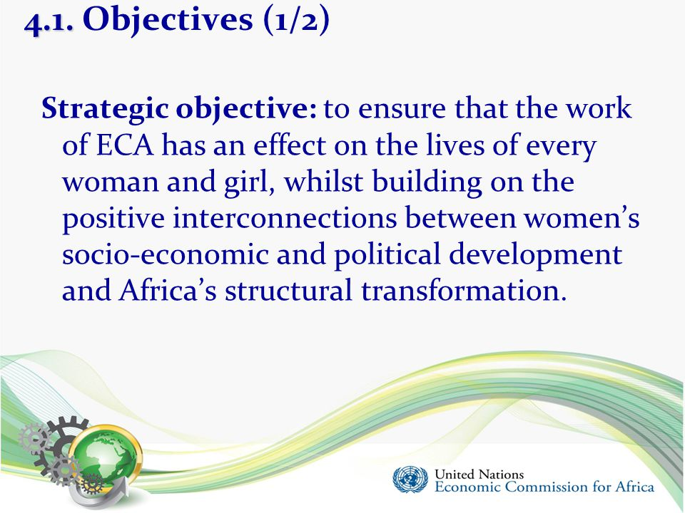 4.1. Objectives (1/2)