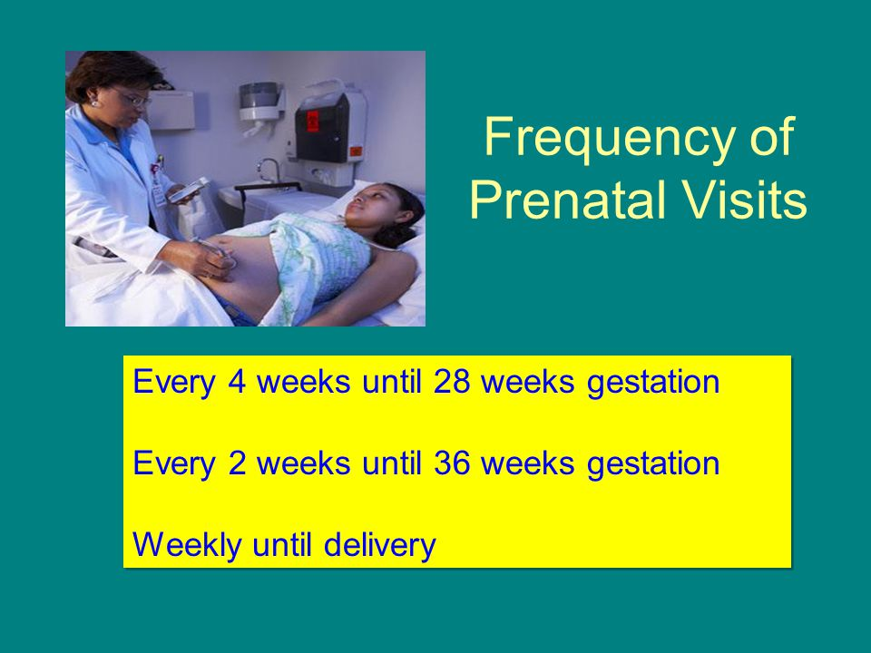 Frequency of Prenatal Visits