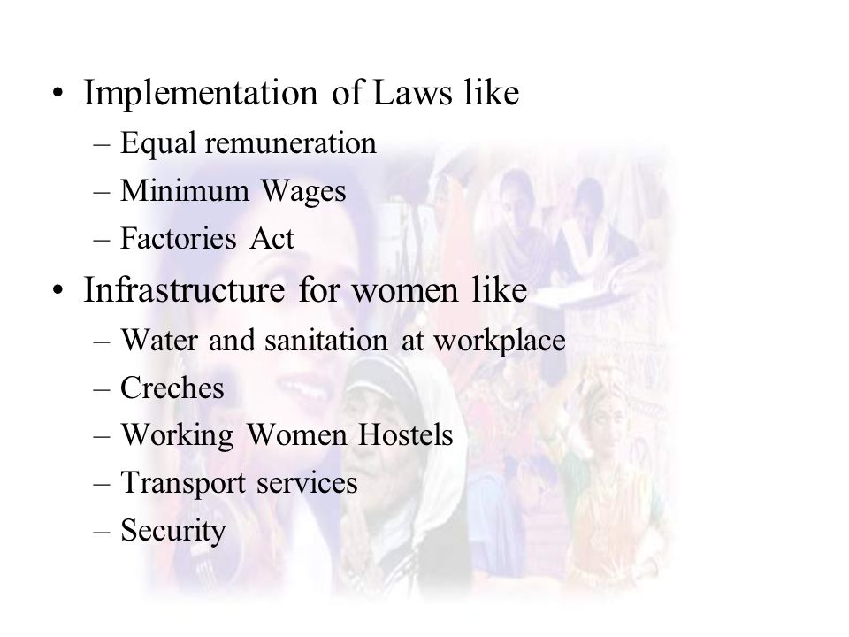 Implementation of Laws like