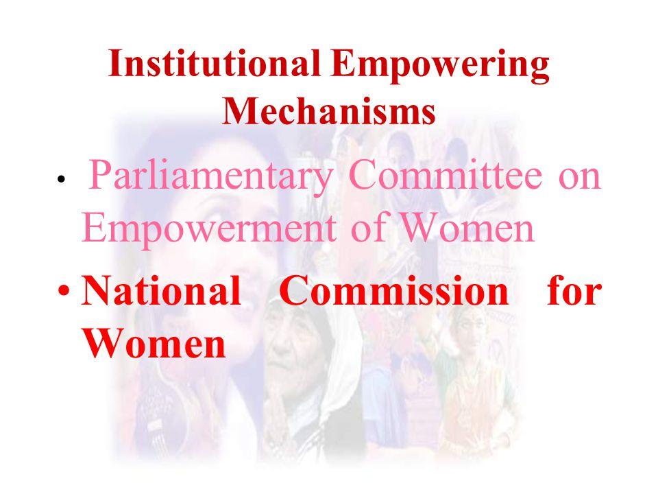 Institutional Empowering Mechanisms