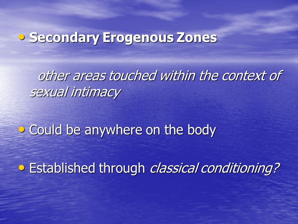 Secondary Erogenous Zones