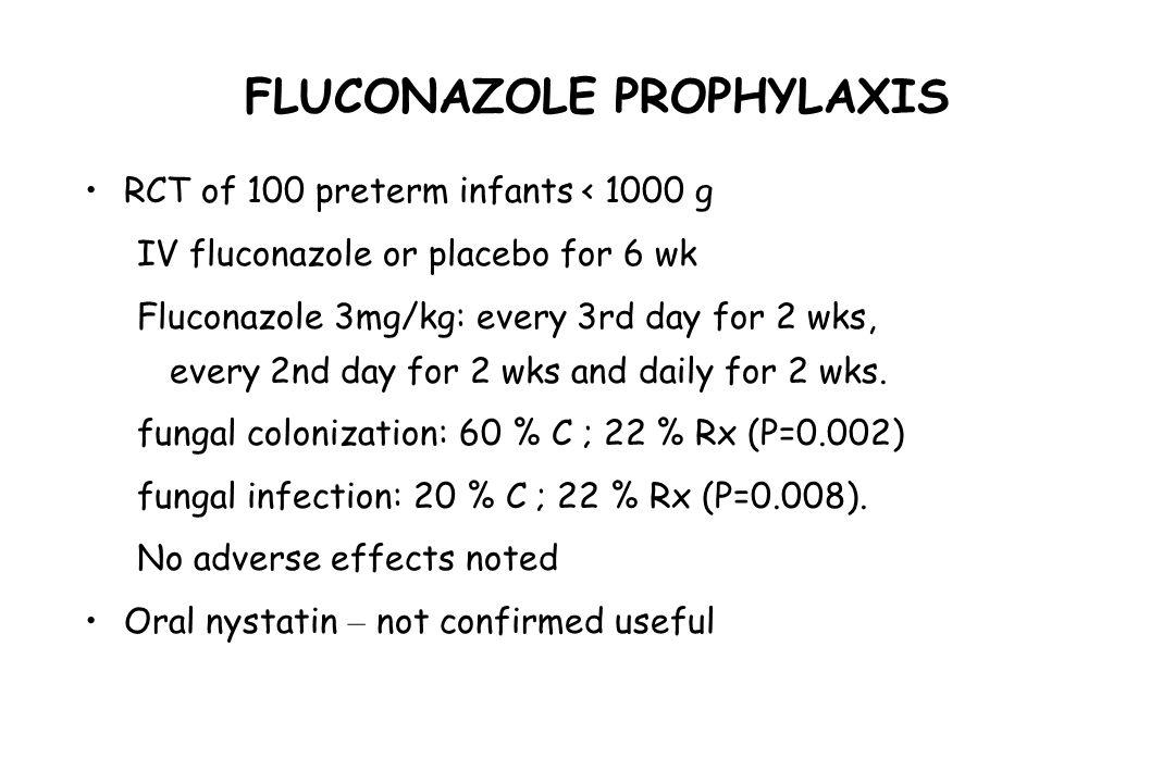 FLUCONAZOLE PROPHYLAXIS