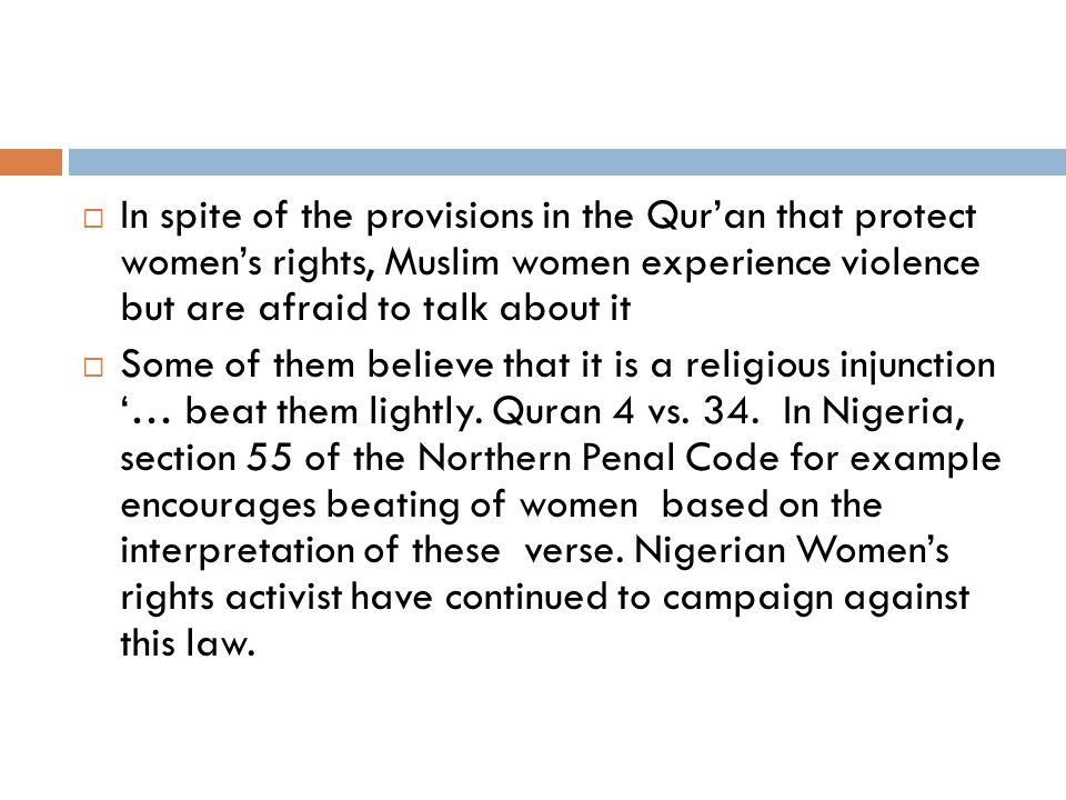 2c. Not breaking the silence on violence against women; battery, divorce, etc.