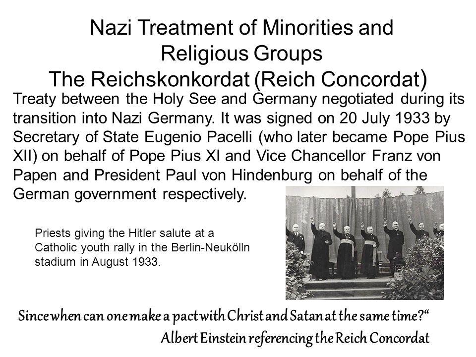 The Reichskonkordat (Reich Concordat)