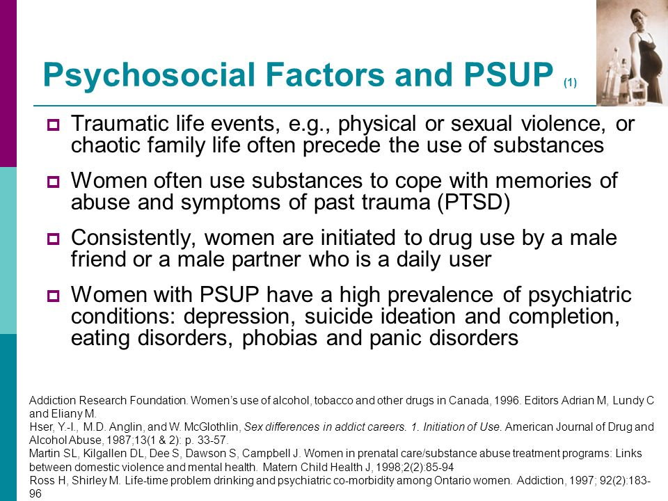 Psychosocial Factors and PSUP (1)