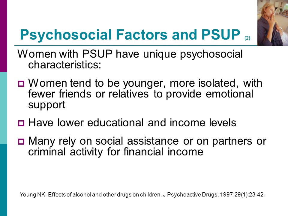 Psychosocial Factors and PSUP (2)