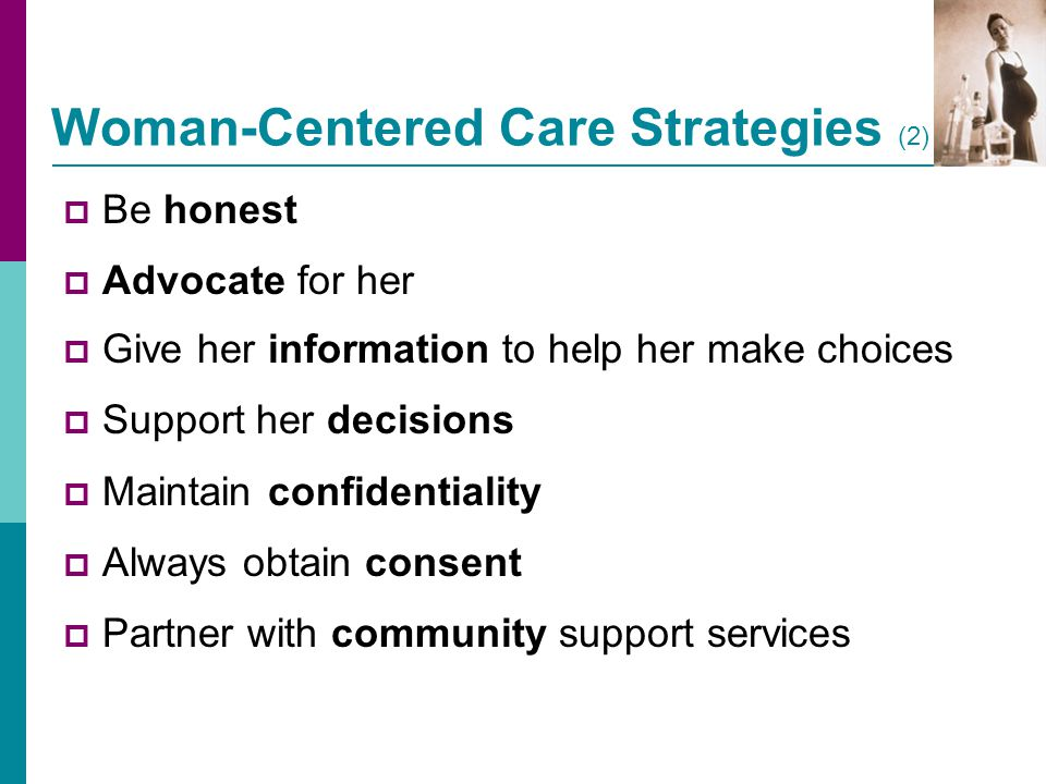 Woman-Centered Care Strategies (2)