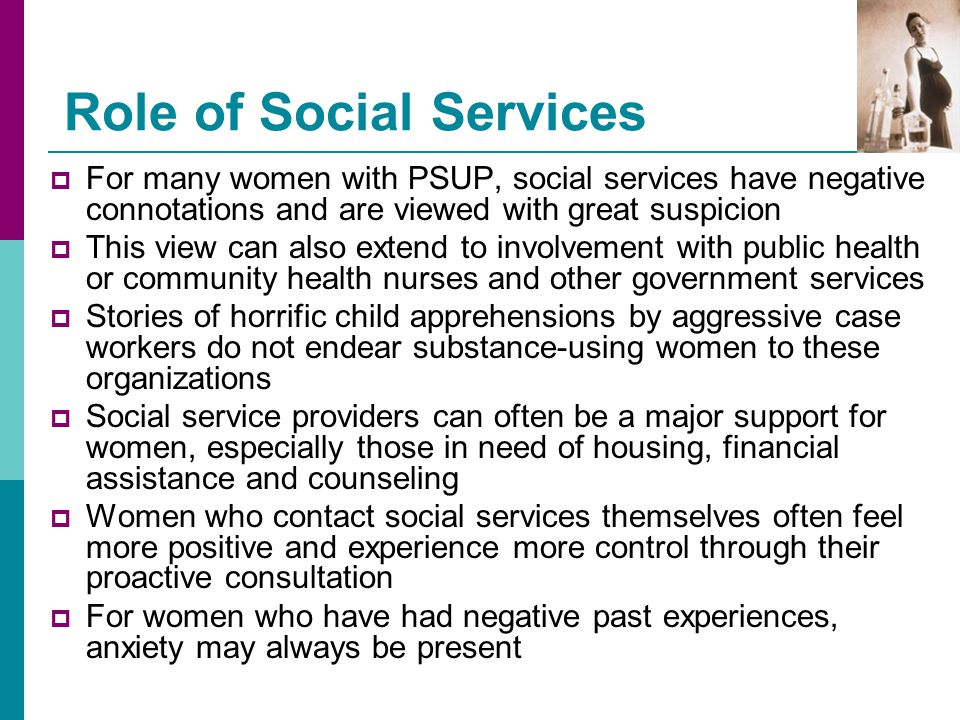 Role of Social Services