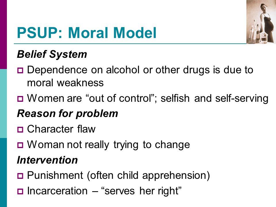PSUP: Moral Model Belief System