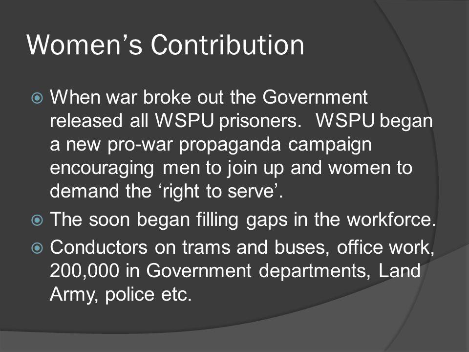 Women's Contribution