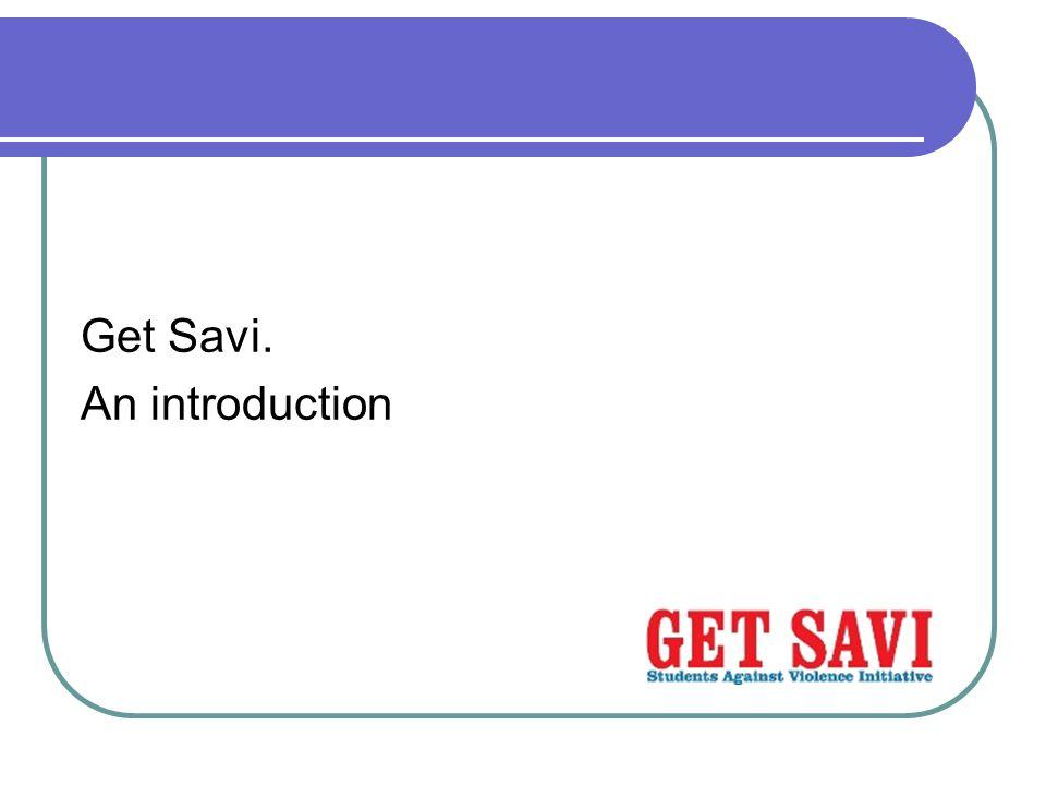 Get Savi. An introduction