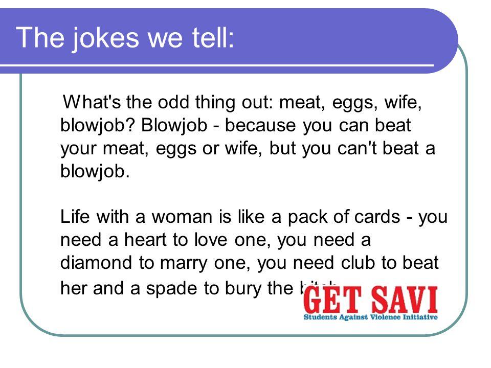 The jokes we tell: