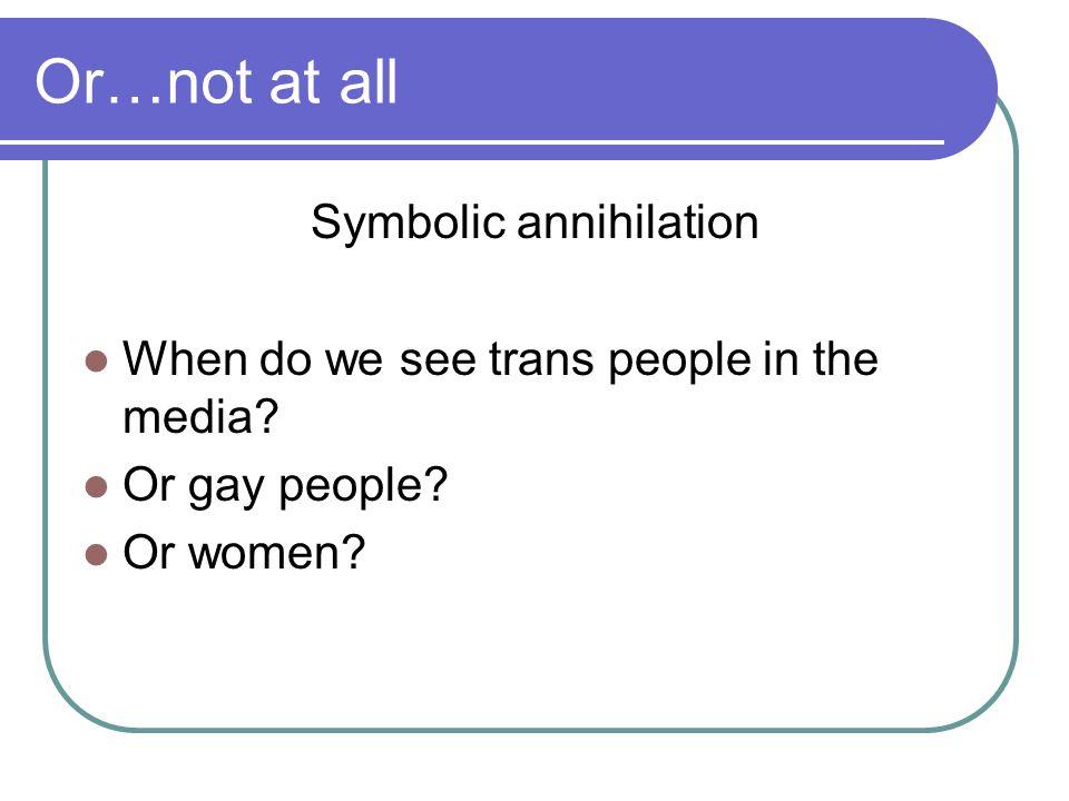 Symbolic annihilation