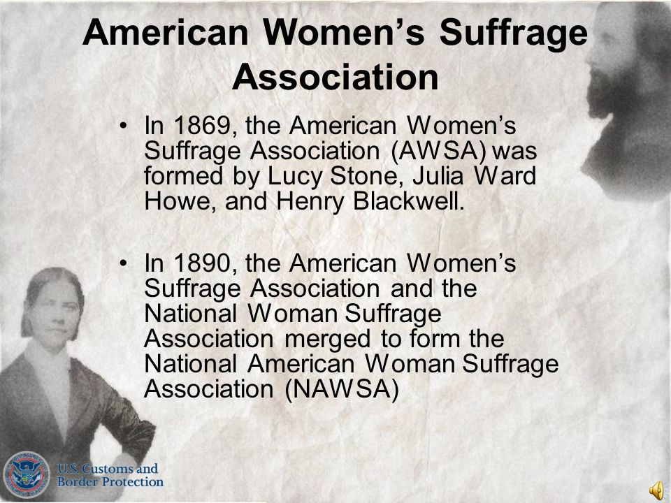 American Women's Suffrage Association