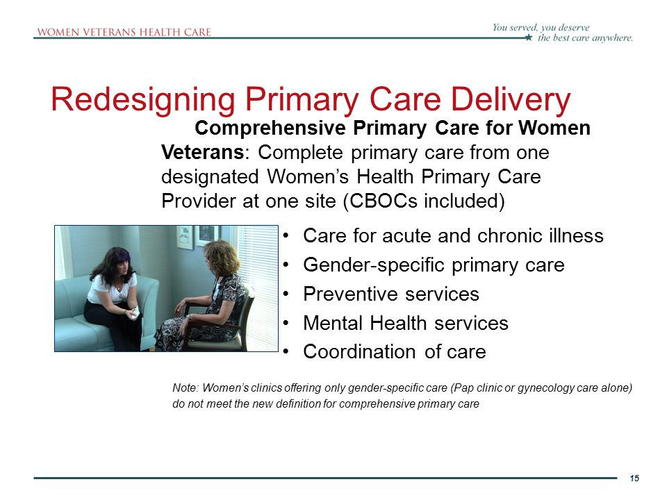 Redesigning Primary Care Delivery