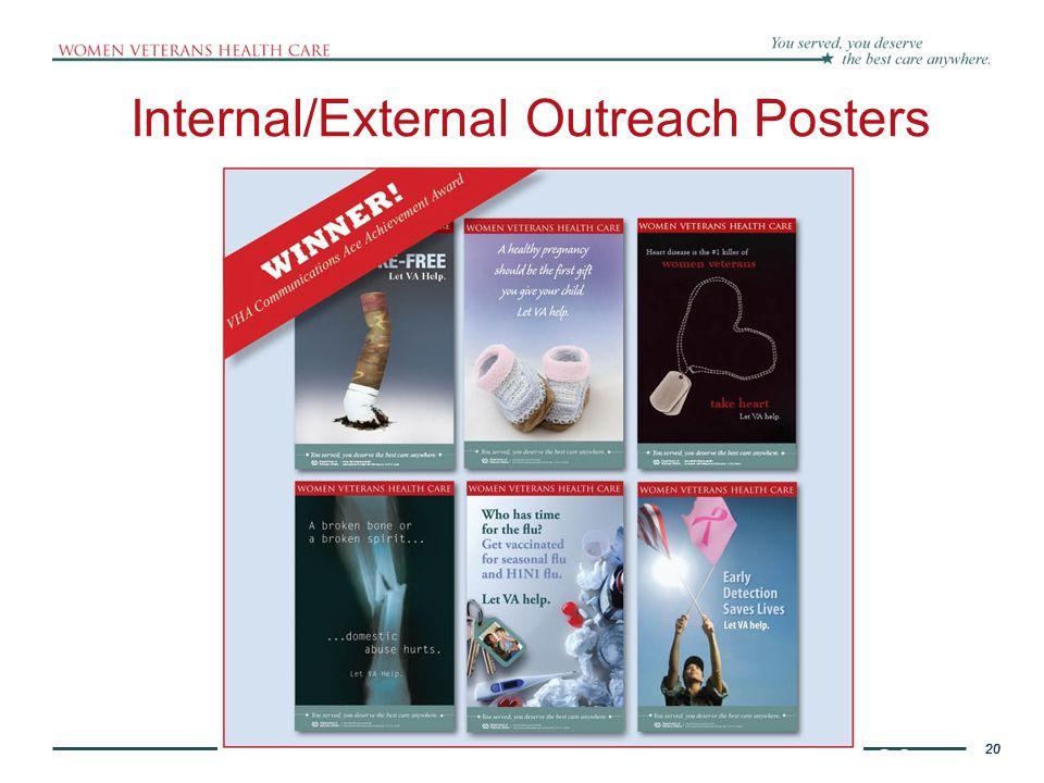 Internal/External Outreach Posters